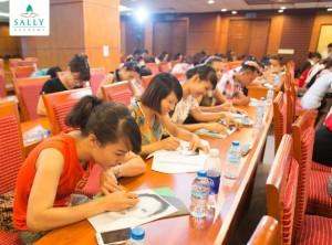 Hình ảnh Hội thảo phun thêu Hàn Quốc
