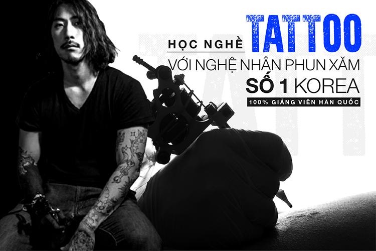 khóa đào tạo tattoo nghệ thuật tại Sally academy