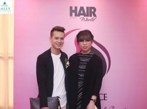 Đồng hành cùng Stylist Chan Moon tại cuộc thi Hair Office 2015